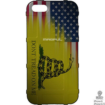 Dont Tread on Me Yellow Punisher iphone case