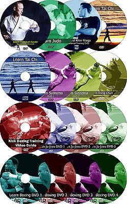 Mixed Martial Arts MMA Training DVDs Judo Karate Kick Boxing Systema Krav Maga