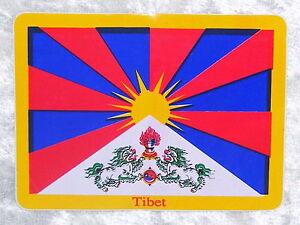 El-tibet-pegatinas-en-2-tamanos-sticker-Himalaya-budismo-Buda-nepal-Lama
