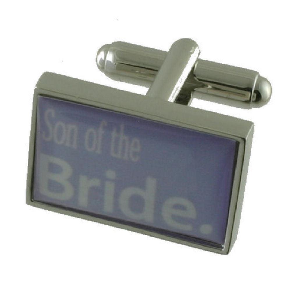 Figlio Figlio Figlio Sposa viola Viola in scatola regalo Gemelli da matrimonio 1353d8