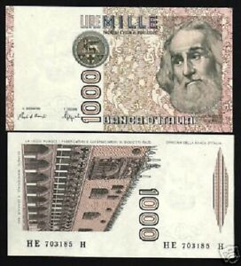 Image Is Loading Italy 1000 Lire P109 1982 Euro Marco Polo