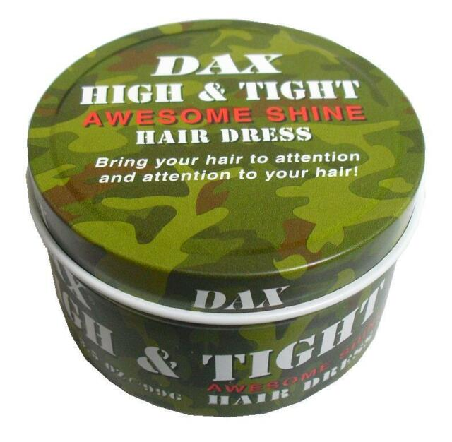 DAX Awesome Shine High & Tight Hair Dress 3.5oz/99g Green Jar
