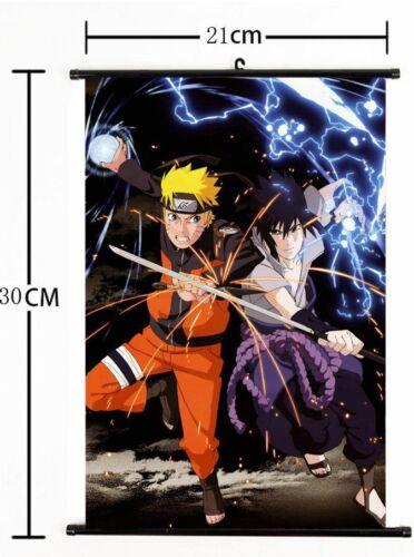 Hot Japan Anime NARUTO Art Cosplay Wall Scroll Poster Home Decor 21*30CM AA+