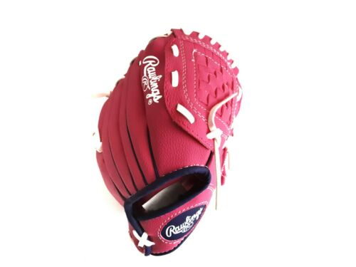 """Rawlings Player Series Tee Ball Glove PL90PPW 9"""" Pink Right Hand Throw NWT"""
