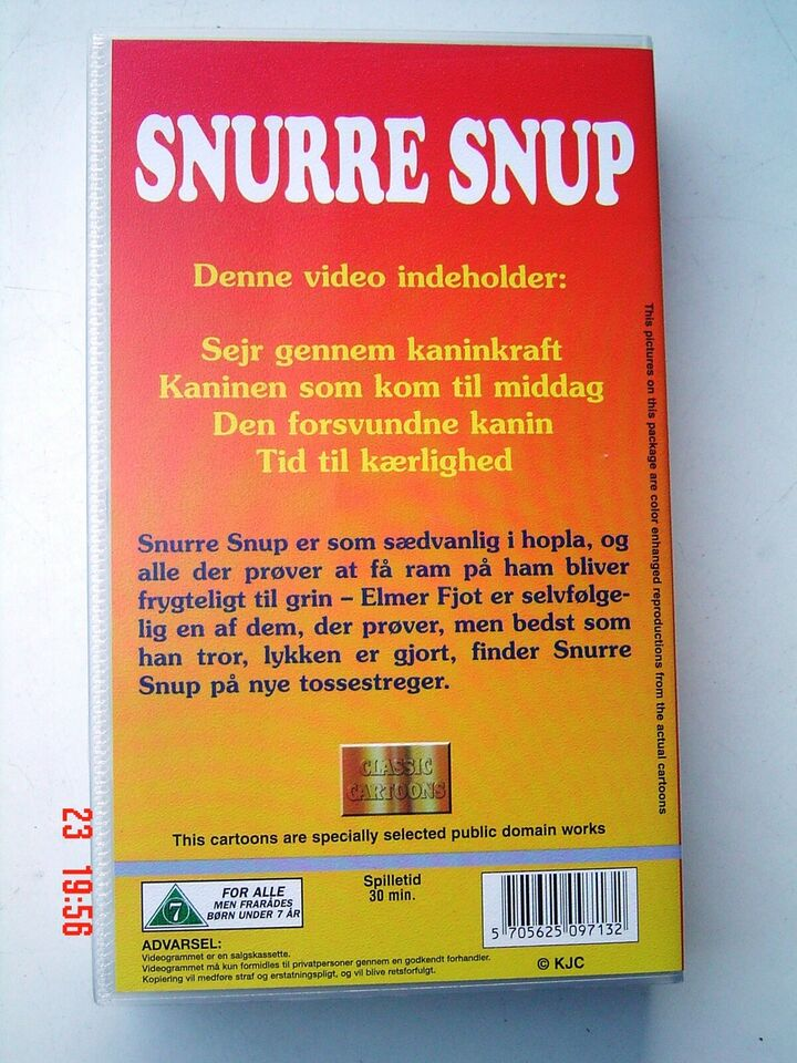 Tegnefilm, SNURRE SNUP