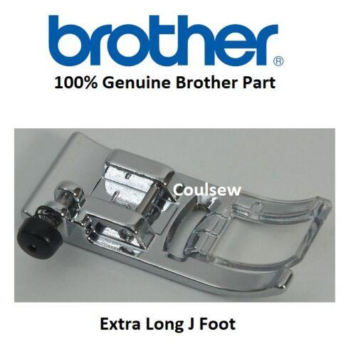 100/% GENUINE BROTHER STANDARD ZIG ZAG FOOT 7MM J LONG XF3022001 V5 1100 1300