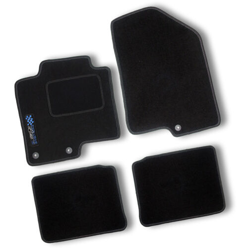AUTO-TAPPETINI Exclusiv BLACK per FORD FOCUS TIPO 3//DYB 2011-2015