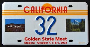 ALPCA-CALIFORNIA-034-HOLLYWOOD-YOSEMITE-N-P-32-034-CA-Graphic-Licence-Plate