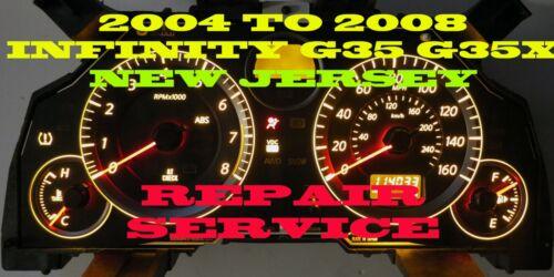 FITS Infinity G35 G35X 04 05 06 07 08 Speedometer Instrument Cluster Exchange