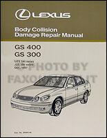 Lexus Gs400 Gs300 Body Shop Manual 1998 1999 2000 Gs 300 400 Original Collision
