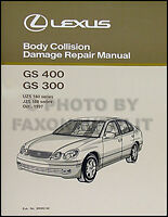 Lexus Gs400 Gs300 Body Shop Manual 1998 1999 2000 Gs 300 400 Original Collision
