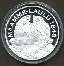 """Finland """"Silver Treasure Collection"""" Coin - National Anthem 1848 Proof - COA"""