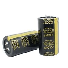 Snap In Electrolytic Radial Capacitors 47000uf 35v Amplifier Audio 35x60mm 105c