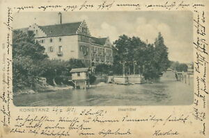 Ansichtskarte-KOnstanz-1901-Inselhotel-Nr-776