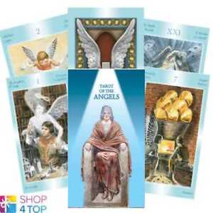 TAROT-OF-THE-ANGELS-DECK-KARTEN-ESOTERIC-FORTUNE-TELLING-LO-SCARABEO-NEU