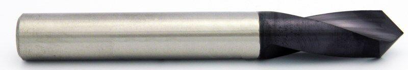 "1//8/"" 90° Degree Carbide NC Spot Drill 2/"" Long Melin Brand USA #17711 Melin USA"