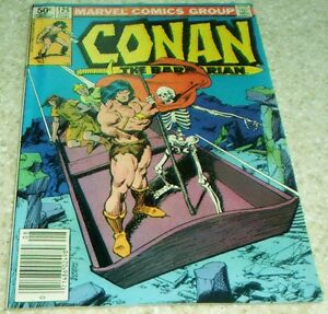 Conan the Barbarian 125 1981 John Buscema art! NM- 9.2