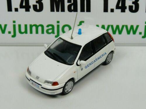 PM50K 1//43 IST déagostini Police du Monde FIAT Punto Gendarmeria san Marino