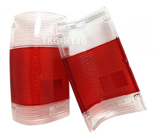 REAR TAIL LIGHT LENS LENSES FOR MAZDA MAGNUM B2000 B2200 B2600 RED//WHITE COLOR