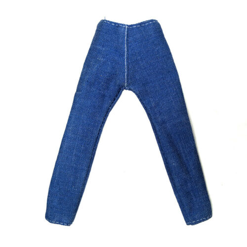 Blue 1//6 Doll Clothes Handmade Jeans Pants For Ken Prince Boy Doll Wear Trousers
