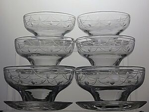 Stuart-Crystal-Tamara-Cut-Footed-Dessert-Bowls-Dishes-Set-Of-6-2-1-3-Tall