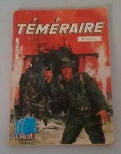 Symbole De La Marque Bd Petit Format Téméraire N° 6 Aredit 1980 Correspondant En Couleur