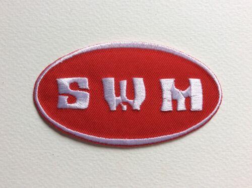 SWM 9*5 CM NEUF A492 //// ECUSSON PATCH AUFNAHER TOPPA