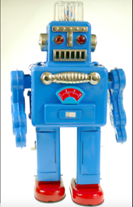 SMOKING-ROBOT-SPACEMAN-BLUE-Battery-Operated-Robot-HAHA-TOY