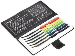 TSUBOSAN-MA00600-Hardness-Tester-Checker-File-HRC40-HRC65-Set-JAPAN-FS