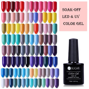 UR SUGAR 7.5ml Esmaltes de Uñas UV LED Gel Polish Base Top Coat Nail Art Varnish