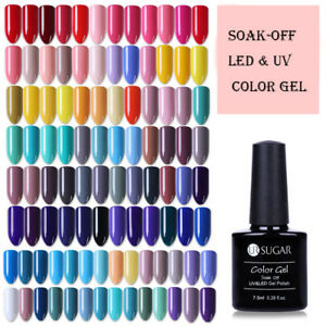 UR-SUGAR-7-5ml-Soak-Off-UV-Gel-Polish-Vernis-a-Ongles-Semi-permanent-Nail-Gel