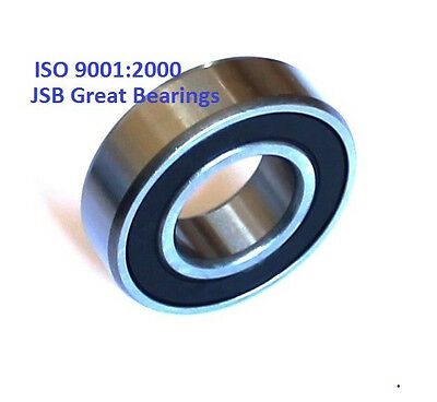 (Qty.10) 6207-2RS two side rubber seals bearing 6207 rs ball bearings 6207rs