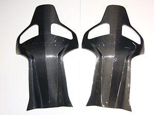 One Pair Of Carbon Fiber Seatback Cover Suit For Recaro Sportster Cs Sport Seat Ebay