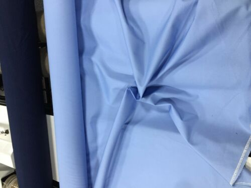 10 METERS TWILL FABRIC DRILL WEIGHT Polycotton 150CM Dress clothing 7 Colours