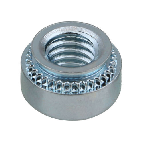 Pressure riveting Nut Zinc M2 M3 M4 M5 M6 M8 Carbon Steel Plate Nuts Fastener