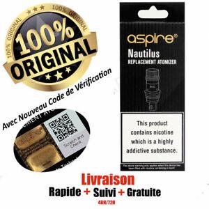 Resistances-Aspire-Nautilus-BVC-Coil-039-s-1-6-1-8-0-7-ohm-Pack-de-5-10-15-20-COILS