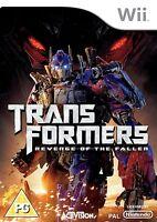 Nintendo Wii Spiel Transformers Die Rache Neuware
