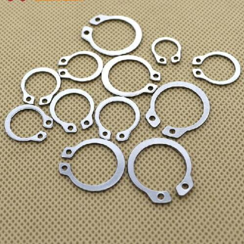 ¢3-¢26 C-clip Moose Racing Countershaft Washers Snap Ring Stainless Steel 50PCS