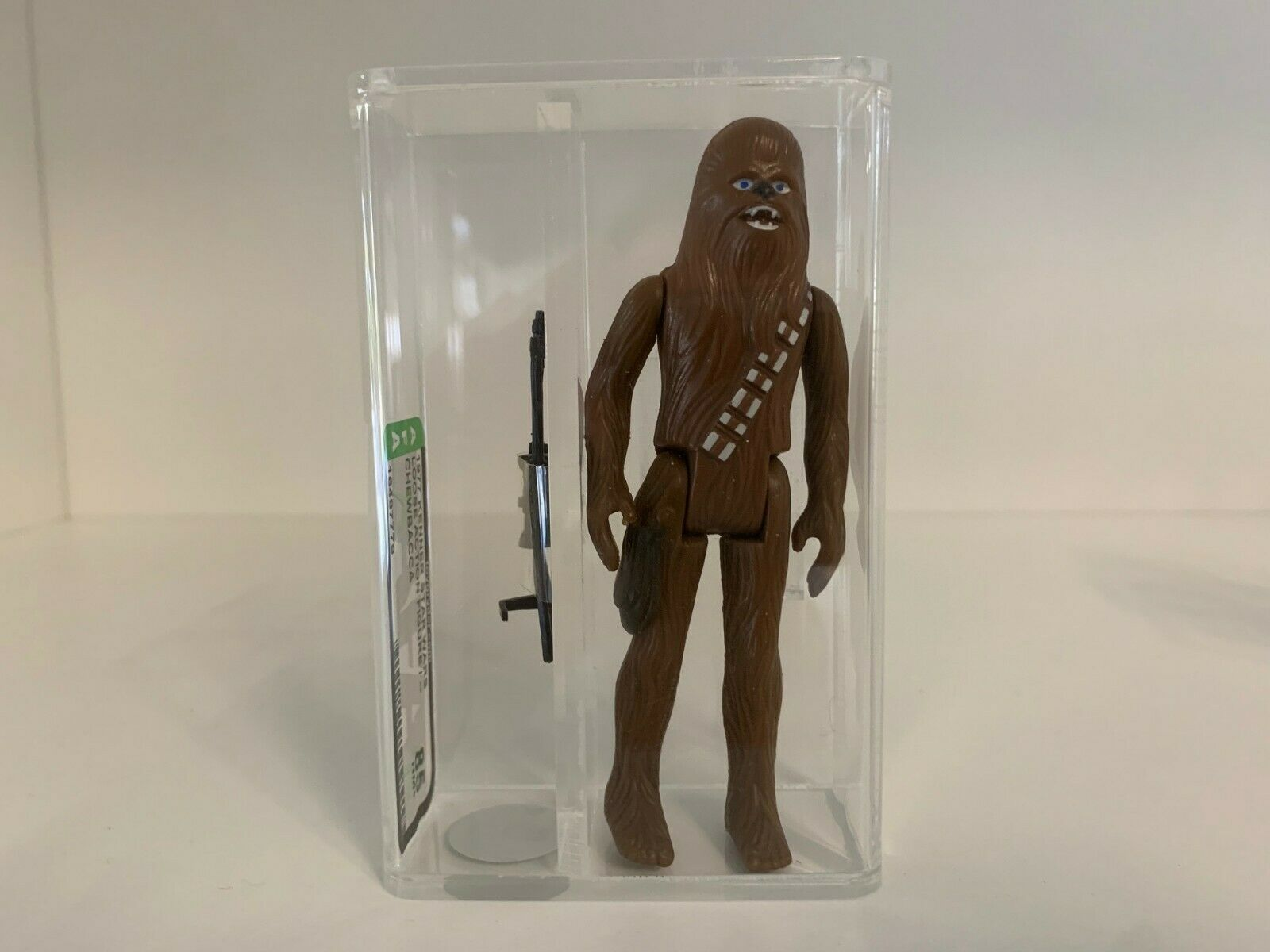 1977 Kenner Star Wars Loose Chewbacca No COO AFA Grade 85 NM+