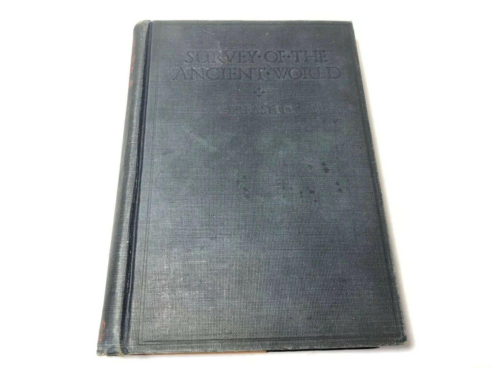 1919 Antique Book: Survey of the Ancient World by James Henry Breasted, 1st Ed.