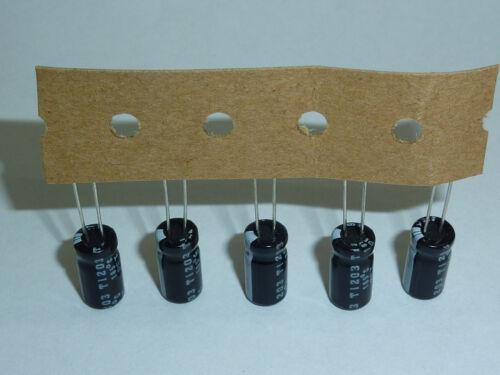 200pcs 22uF 63V Rubycon YXF 6.3x11mm 63V22uF Low Impedance Long Life Capacitor