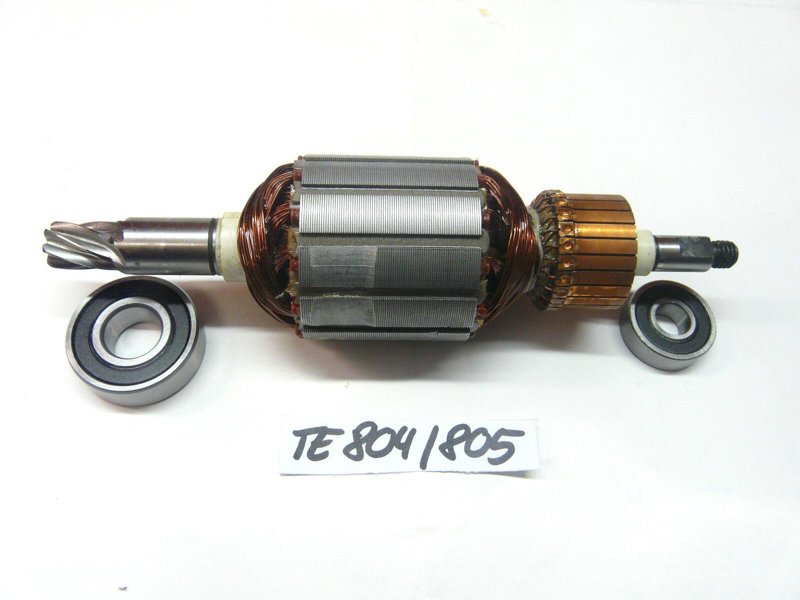 Anker, Rotor für Hilti TE 804, TE 805 mit beiden Lagern