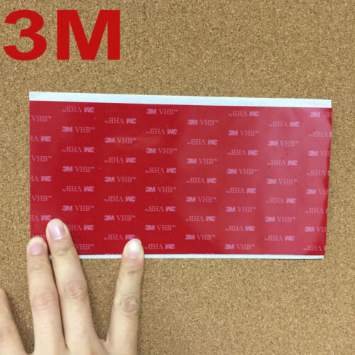 3M VHB 5608 Double Sided Adhesive Acrylic Foam Tape Mounting 20cm*10cm*0.8mm