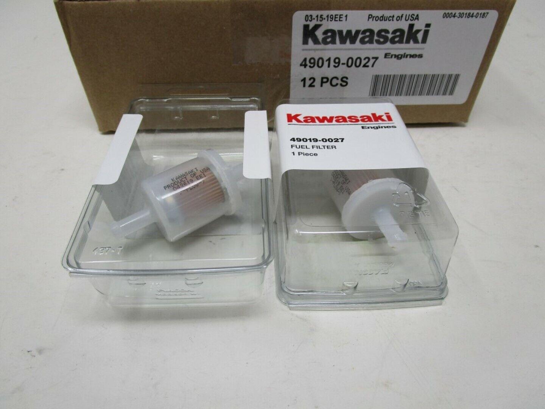 Caso 12 Filtro De Combustible Kawasaki 49019-7001 Original 49019-0027 49019-0014 49019-0707