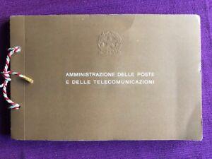 FRANCOBOLLI-1979-LIBRETTO-DELLE-POSTE-ITALIANE-ANNATA-COMPLETA