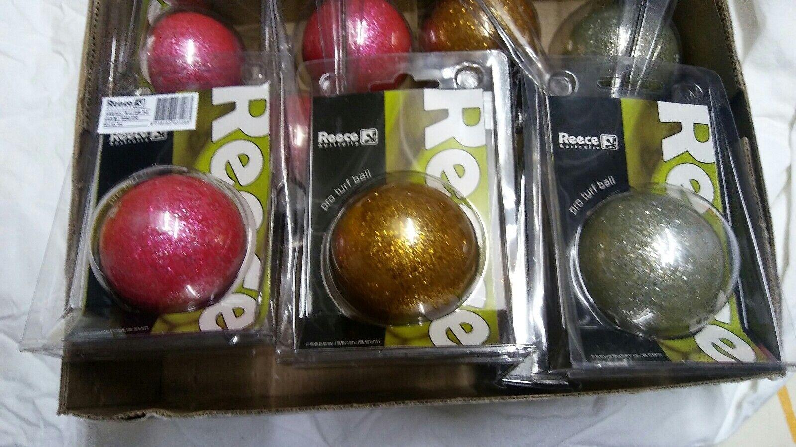 Feld Hockey Bälle Im Karton  10 Stück neu aus Geschäftsauflösung Farbe Glitter