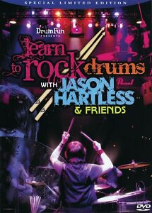 Apprendre à Rock Batterie Avec Jason Hartless & Friends Special Limited Ed. 000321164-afficher Le Titre D'origine