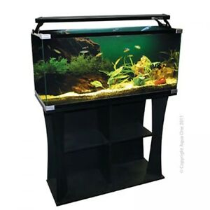 Fish & Aquariums Aquaone 130 Marine Tank Aquariums & Tanks