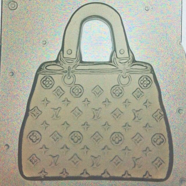 Resin Or Chocolate Mold Designer Purse Or Hand Bag Mould Set of 2