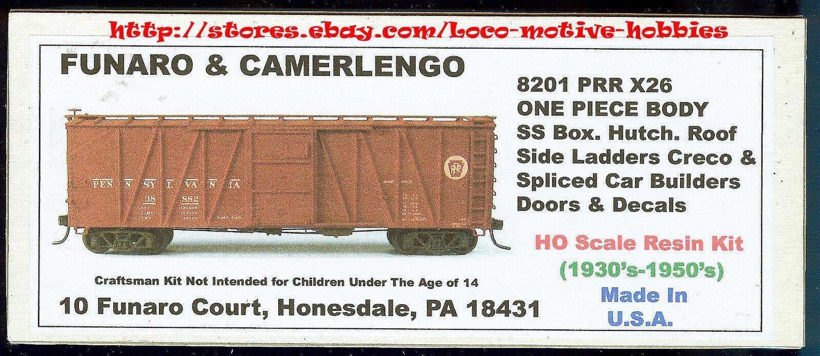 Funaro f&c 8201 Pennsylvania X26 Ss Furgón Prr cercanías estilos creco 1 Pieza